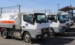 石油製品の配送事業